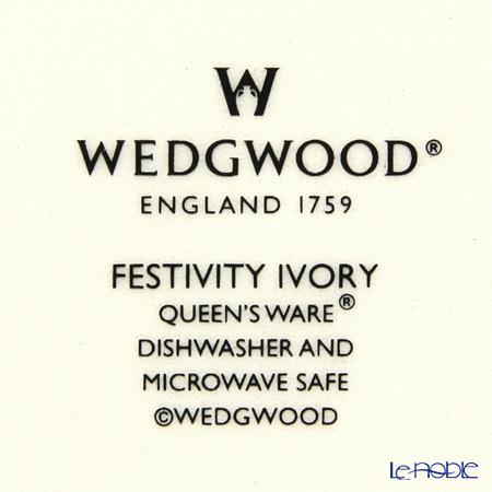 ウェッジウッド(Wedgwood) フェスティビティプチトレイ(アイボリー)