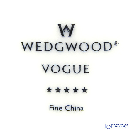ウェッジウッド(Wedgwood) Vogue ヴォーグティーカップ&ソーサー 220cc スタッカブル