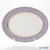 ウェッジウッド(Wedgwood) アンセミオンブルー盛皿 オーバル 39cm