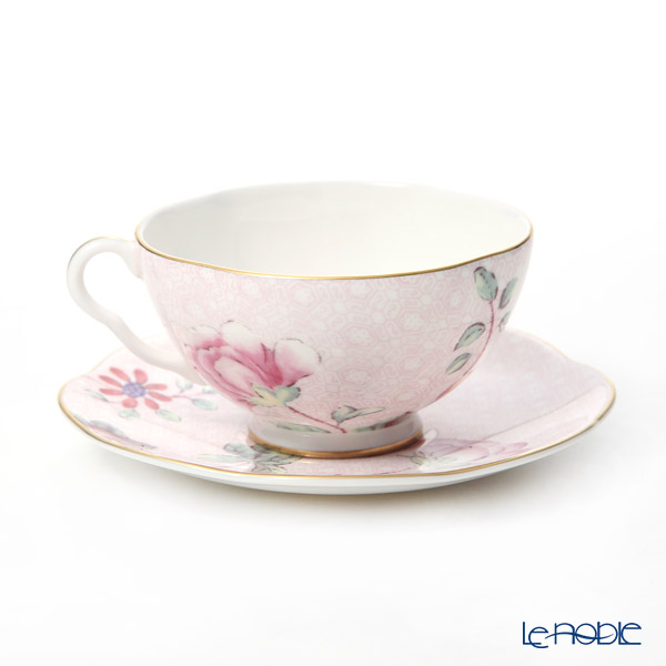 Wedgwood 'Cuckoo' Pink Tea Cup & Saucer 280ml