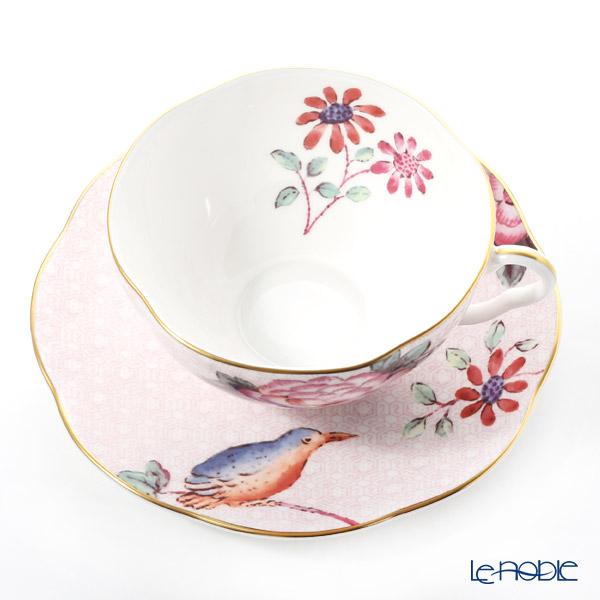 Wedgwood 'Cuckoo' Pink Tea Cup & Saucer 280ml