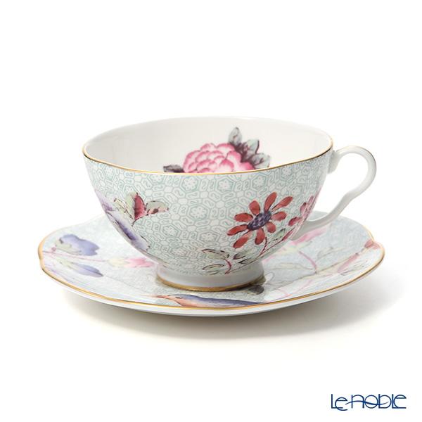 ウェッジウッド(Wedgwood) カッコー(ハーレクィーンコレクション) ティーカップ&ソーサー 180cc グリーン