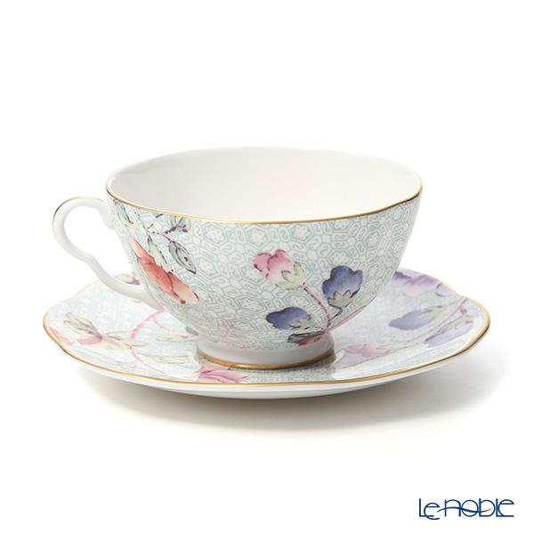 ウェッジウッド (Wedgwood) カッコー(ハーレクィーンコレクション) ティーカップ&ソーサー 180cc グリーン ウエッジウッド ギフト  カッコー(ハーレクィーン