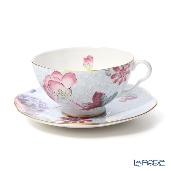 Wedgwood Cuckoo Teacup and Saucer Blue