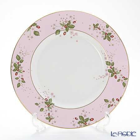 Wedgwood Wild Strawberry Bloom Plate 27 cm, pink