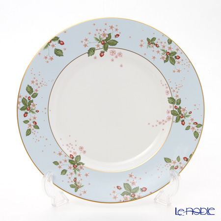 Wedgwood Wild Strawberry Bloom Plate 27 cm, blue