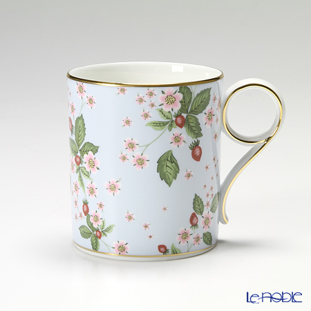 Wedgwood Wild Strawberry Bloom Mug - Blue