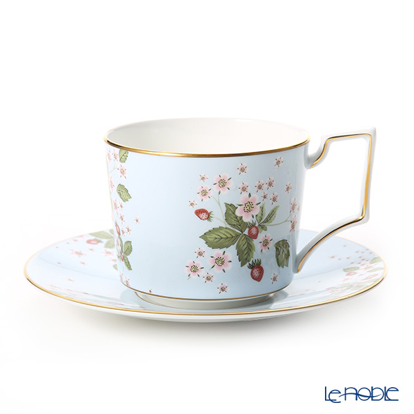 Wedgwood (Wedgwood) Wild Strawberry Bloom Tea cups and saucers (Piarney)