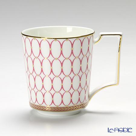 Wedgwood Renaissance Gold Mug, pink
