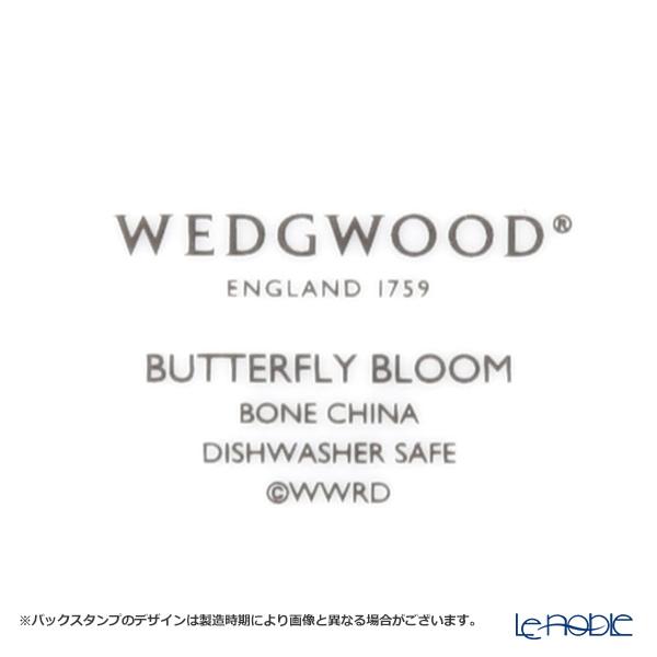 ウェッジウッド(Wedgwood) バタフライブルームティーカップ&ソーサー ブルー/ピンク