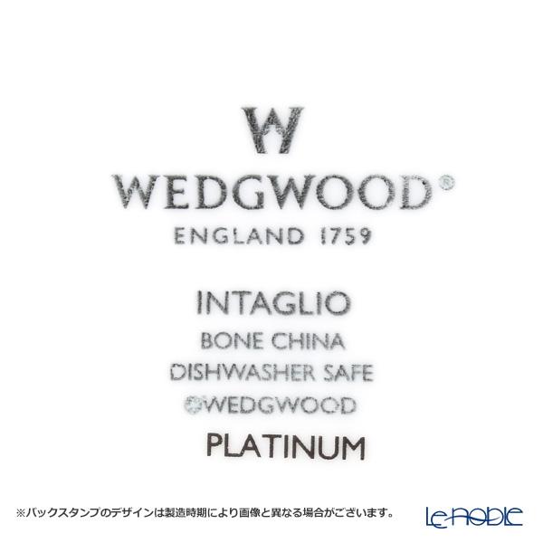 ウェッジウッド(Wedgwood) インタグリオ プラチナダイヤディッシュ 22×15cm