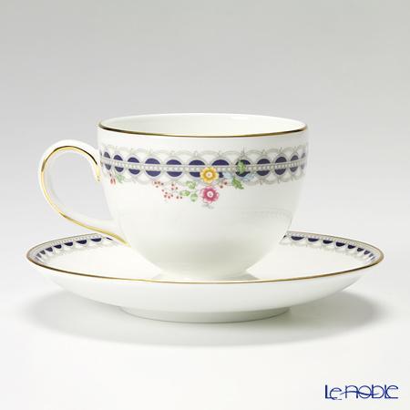 Wedgwood 'Lace Peony' Leigh Tea Cup & Saucer 200ml