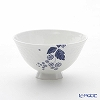 Wedgwood 'Strawberry Bloom Indigo' Rice Bowl 12cm (L / for men)