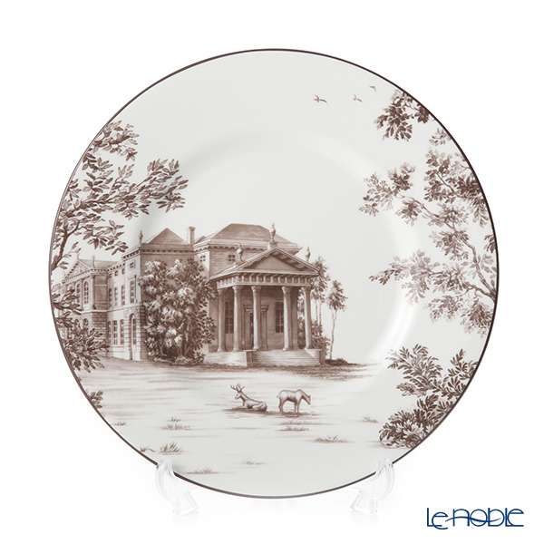 Wedgwood 'Parkland - West Wycombe House' Plate 22.5cm