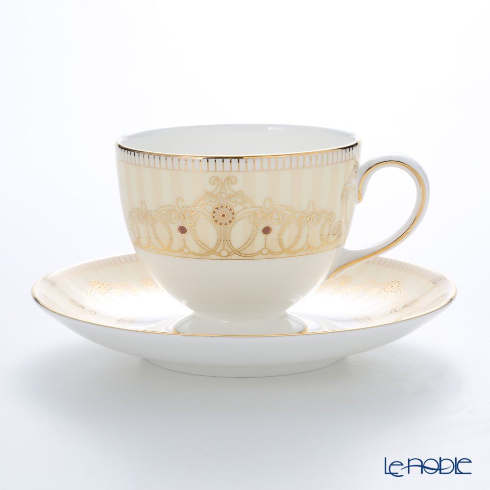 Wedgwood Alexandra Champagne Leigh teacup & Saucer