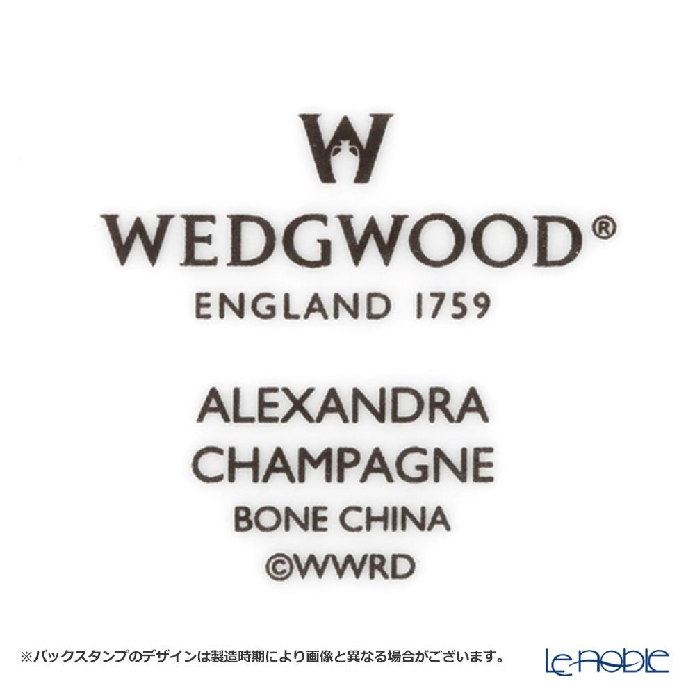 ウェッジウッド(Wedgwood) アレクサンドラ シャンパンゴールドティーカップ&ソーサー(リー)