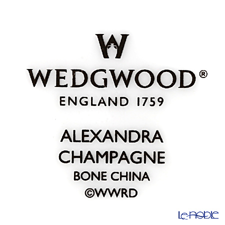 ウェッジウッド(Wedgwood) アレクサンドラ シャンパンゴールドプレート 20cm