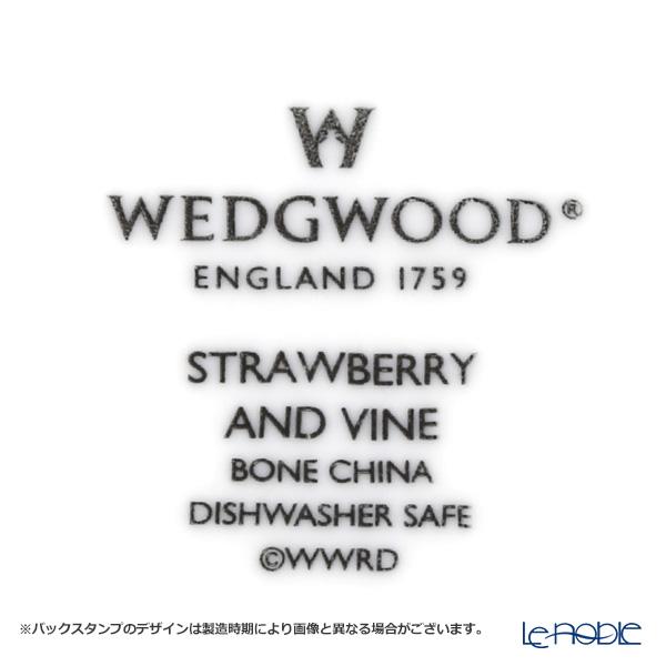 ウェッジウッド(Wedgwood) ストロベリー&バインオーバルボウル 28cm