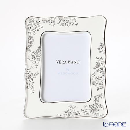 ウェッジウッド(Wedgwood) ヴェラ・ウォン ヴェラレース プラチナ ピクチャーフレーム 17×13cm