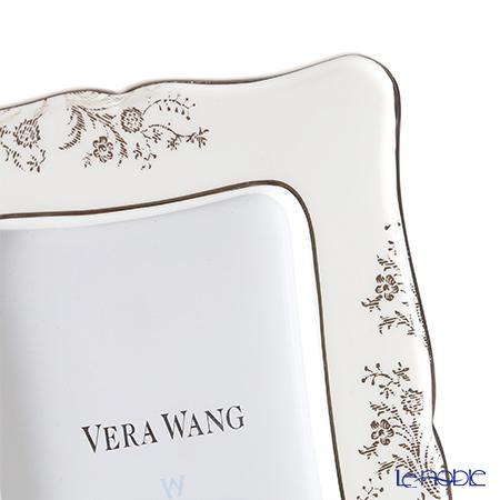 ウェッジウッド(Wedgwood) ヴェラ・ウォン ヴェラレース プラチナピクチャーフレーム 17×13cm