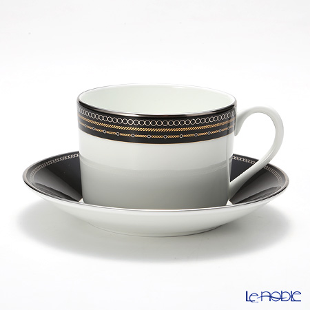 Wedgwood Vera Wang - With Love Noir Teacup & Saucer