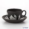 Wedgwood (Wedgwood) Jasper black Tea Cup & Saucer