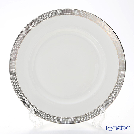 Wedgwood Vera Wang - Gilded Weave Platinum Plate 27 cm
