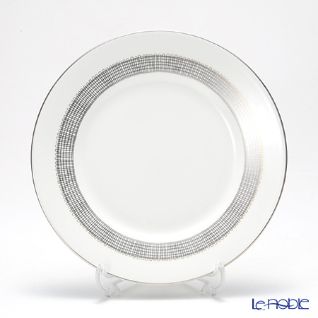 Wedgwood Vera Wang - Gilded Weave Platinum Salad Plate