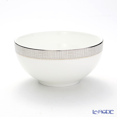 Wedgwood Vera Wang - Gilded Weave Platinum Cereal Bowl 15 cm