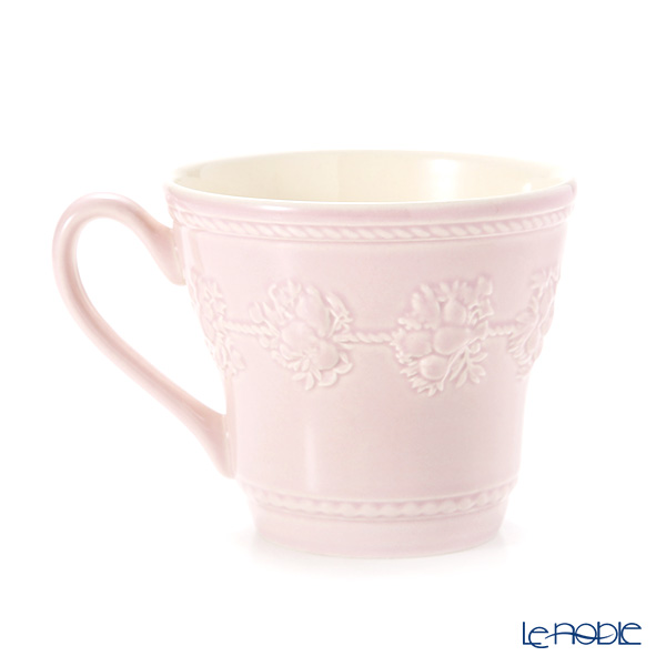 Wedgwood 'Festivity' Pink Mug 350ml