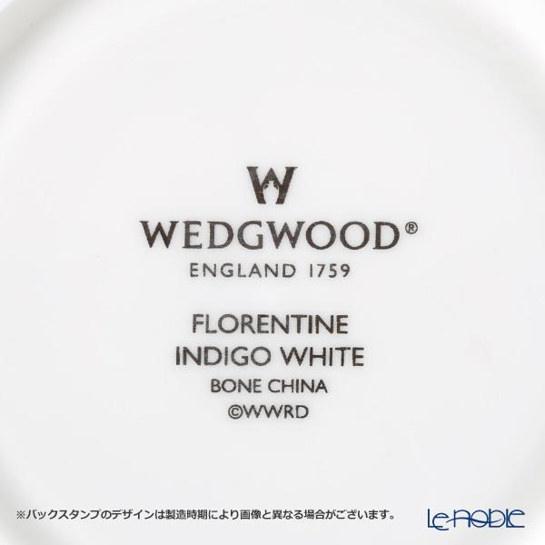 ウェッジウッド(Wedgwood) フロレンティーン インディゴホワイトティーカップ&ソーサー(リー)