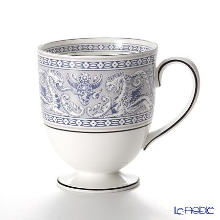ウェッジウッド(Wedgwood) フロレンティーン インディゴホワイト マグカップ(リー)