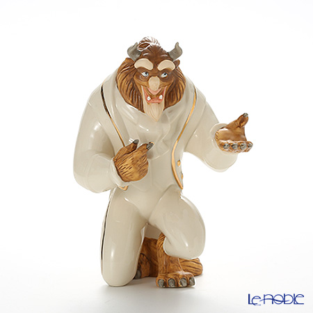 レノックス ディズニーフィギュリン 美女と野獣マイ ハンド、 マイ ハート(野獣) 3LNL6114-631