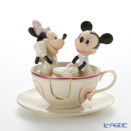 Lenox Mickey and Minnie Dating Mickey's Teacup Twirl 3LNL6229-181