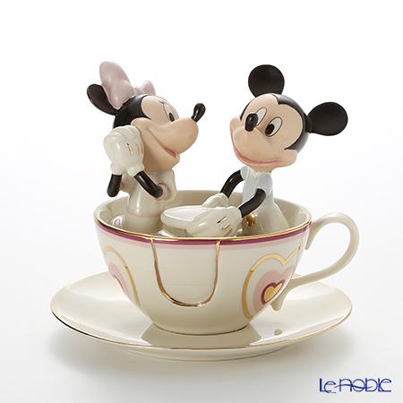 Lenox 'Dinesy - Mickey Mouse & Minnie Mouse / Mickey's Teacup Twirl' 3LNL6229-181 Figurine H16.5cm