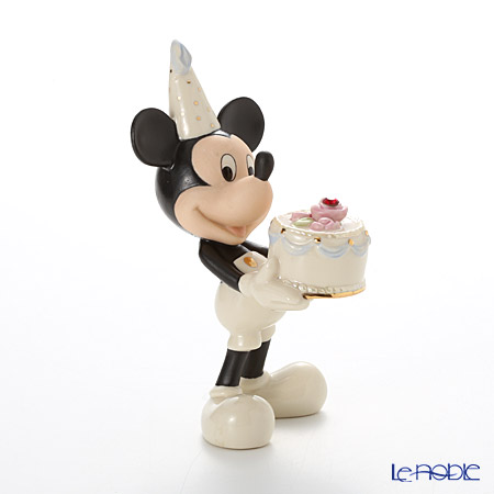 Lenox 'Disney - Mickey Mouse's Happy Birthday To You (Cake)' July 3LNL6406-979 Figurine H13cm