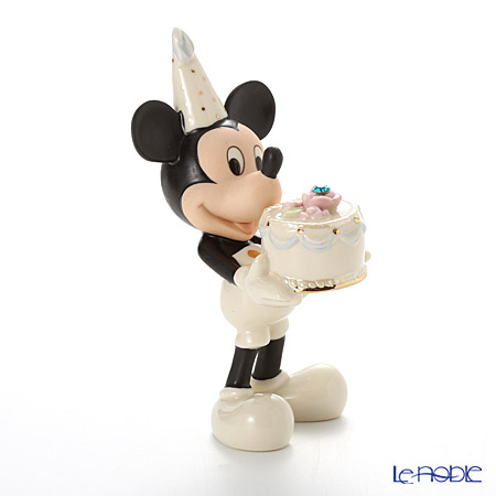 レノックス ディズニーフィギュリン ミッキー&フレンズ バースストーン ミッキー 12月 3LNL6407-027