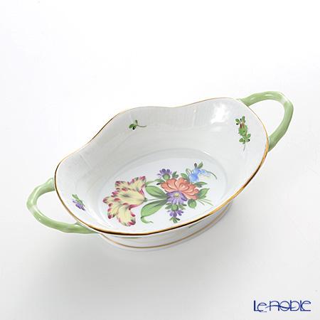 ヘレンド チューリップの花束 07420-0-00バスケット(オーバル)