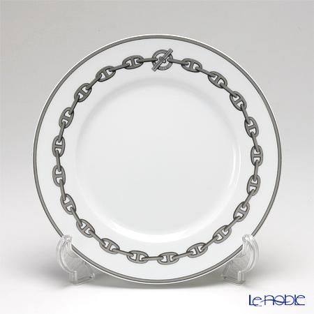 エルメス(HERMES) シェーヌ ダンクル プラチナ デザートプレート 21cm