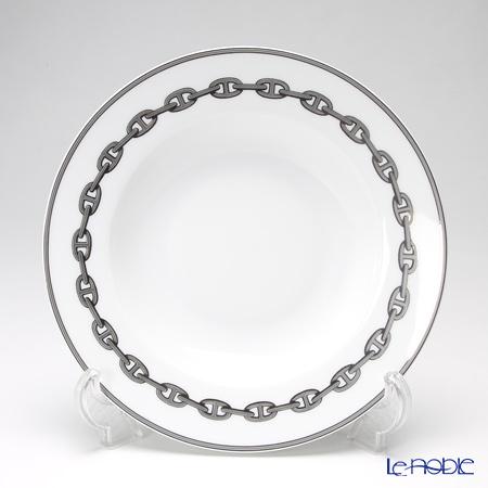 エルメス(HERMES) シェーヌ ダンクル プラチナ スーププレート 22cm