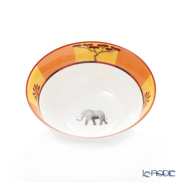 エルメス(HERMES) アフリカ ブラウン コレクション アジアティック ライスボウル 190ml 004684P