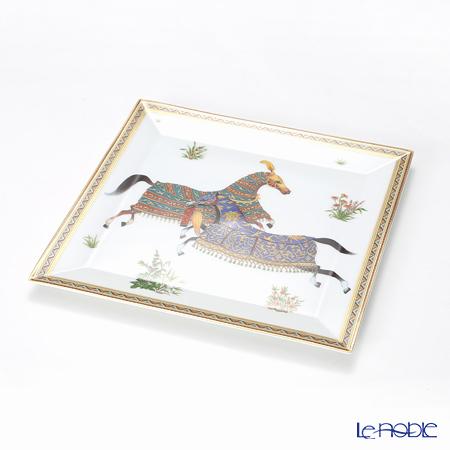 エルメス(HERMES) シュヴァルドリアンプチカレ(プレート) 19×19cm No.4
