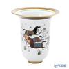 Hermes 'Cheval d'Orient (Horse)' 009858P Very Large Vase H27cm
