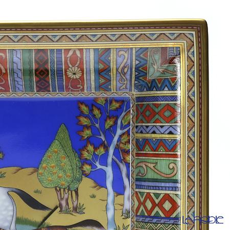 Hermes 'Cheval d'Orient (Horse)' Vide-Poches Rectangular Plate 17x21cm
