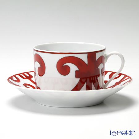 エルメス(HERMES) ガダルキヴィールモーニングカップ&ソーサー 320ml