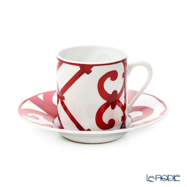エルメス(HERMES) ガダルキヴィール コーヒーカップ&ソーサー 90ml