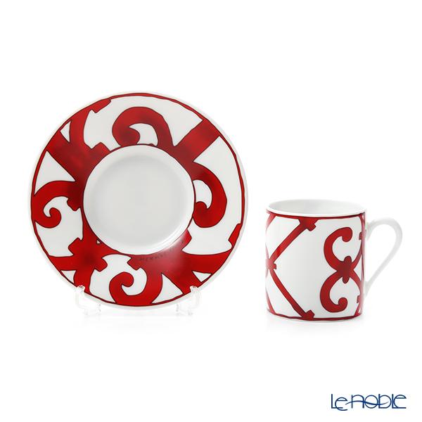Hermes 'Balcon du Guadalquivir' Coffee Cup & Saucer 90ml
