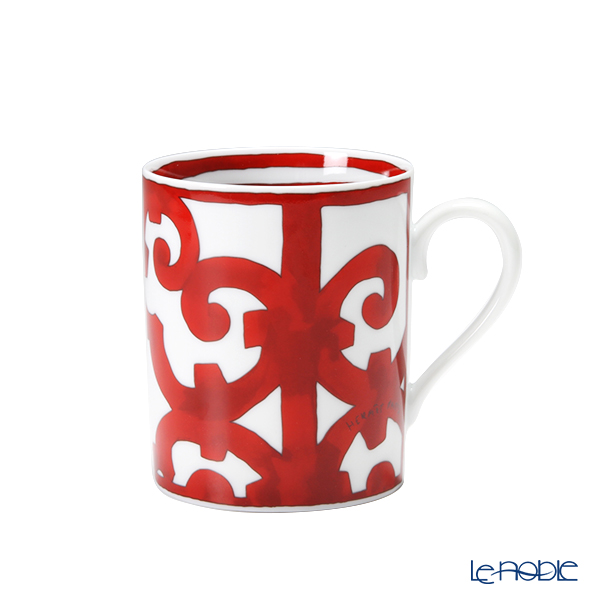 Hermes 'Balcon du Guadalquivir' Red [No.1] Mug 300ml