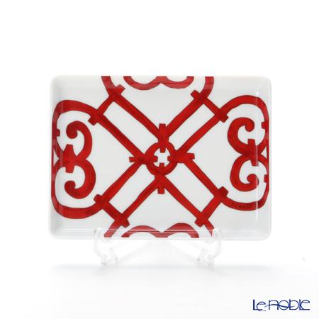 エルメス(HERMES) ガダルキヴィール 長方形皿 16×12cm