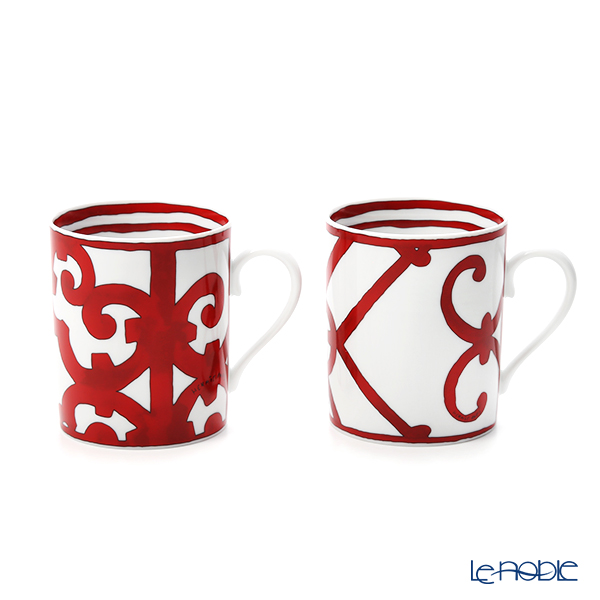 Hermes Balcon du Guadalquivir Mugs n°s 1 and 2, 10 fl.oz.